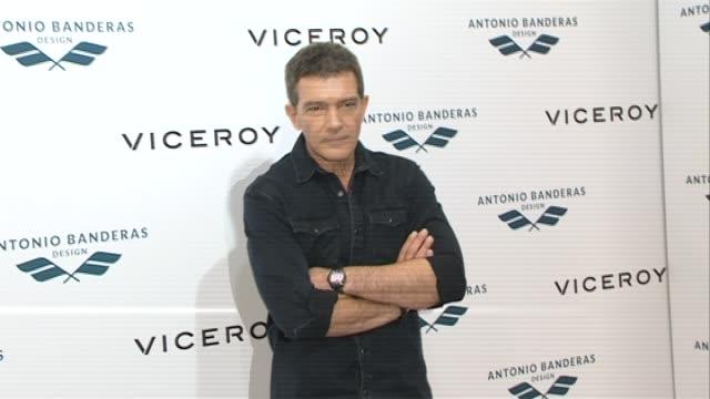 Antonio Banderas presents the new collection for Viceroy