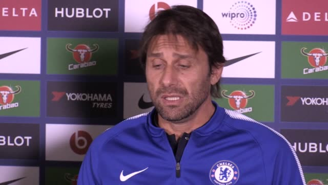 Antonio conte talks the upcoming West Brom match injuries David Luis any regrets putting Tammy Abraham Ruben LoftusCheek on loan after their...