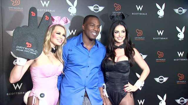 Antonio Gates at The Playboy Party At The W Scottsdale on January 30 2015 in Scottsdale Arizona