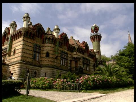 Antonio Gaudi's El Capricho villa Comillas Santander