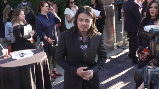 antonio jaramillo at the mayans mc season two premiere at arclight cinerama dome on august 27 2019 in hollywood california - cinerama dome hollywood stock videos & royalty-free footage