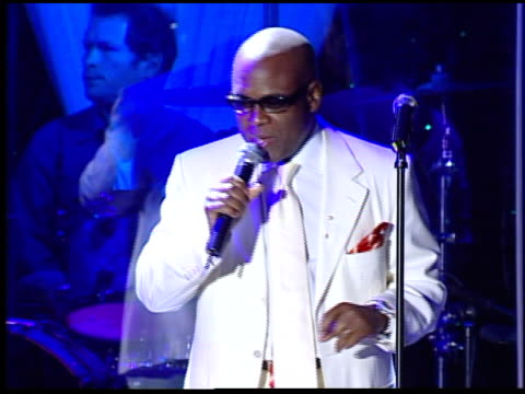 antonio reid introduces clive davis at the clive davis' pregrammy awards party concert at the beverly hilton in beverly hills california on february... - pre party stock videos and b-roll footage