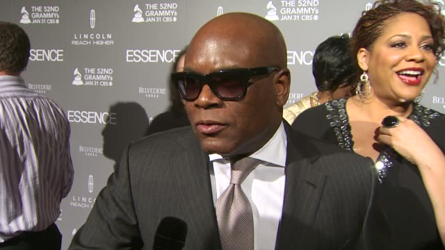 Antonio 'LA' Reid on presenting the award to Mary J Blige tonight on the Grammys and on so many musicians helping in the Haiti relief effort and on...