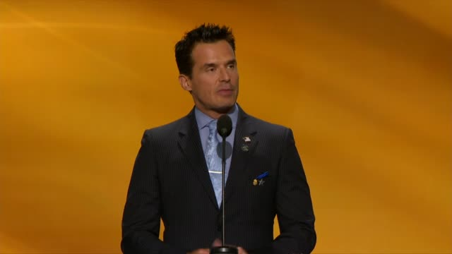 antonio sabato, actor on general hospital and the bold and the beautiful, says he is not a typical convention speaker but he is concerned about the... - antonio sabato jr. stock videos & royalty-free footage