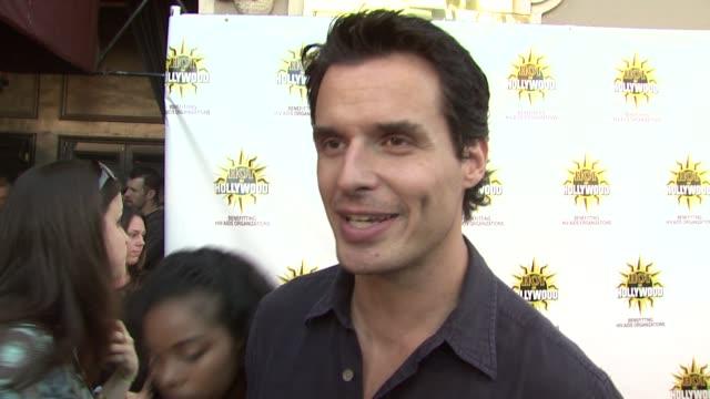 antonio sabato jr. at the hot in hollywood annual event at los angeles ca. - antonio sabato jr. stock videos & royalty-free footage