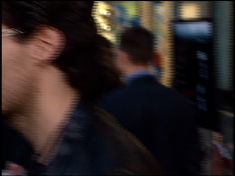 antonio sabato jr at the 'insomnia' premiere at the el capitan theatre in hollywood, california on may 22, 2002. - antonio sabato jr. stock videos & royalty-free footage