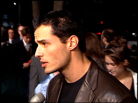 antonio sabato jr at the premiere of 'the crucible' at samuel goldwyn theater in beverly hills, california on november 20, 1996. - antonio sabato jr. stock videos & royalty-free footage