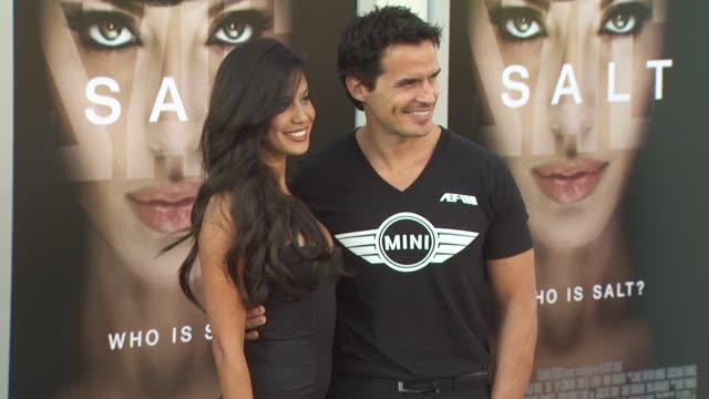 antonio sabato jr. at the 'salt' premiere at los angeles ca. - antonio sabato jr. stock videos & royalty-free footage