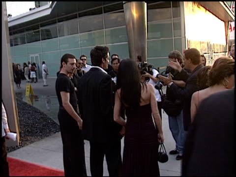 antonio sabato jr at the 'wasabi tuna' premiere at the cinerama dome at arclight cinemas in hollywood, california on august 20, 2003. - antonio sabato jr. stock videos & royalty-free footage