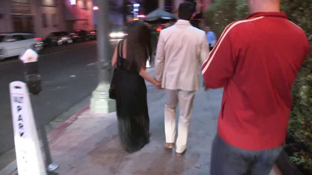 antonio sabato jr. & cheryl moana marie nunes at the after party for dwts finale in los angeles in celebrity sightings in los angeles, - antonio sabato jr. stock videos & royalty-free footage