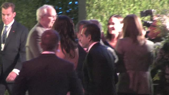 antonio villaraigosa arrives at the 2012 vanity fair oscar party in west hollywood ca 02/26/12 - oscar party stock-videos und b-roll-filmmaterial