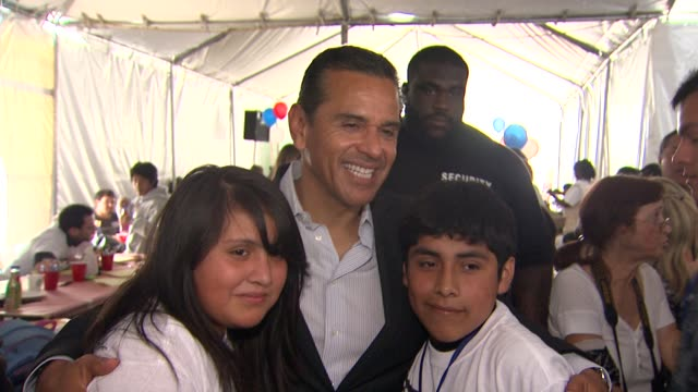 antonio villaraigosa at the 4th annual please mr president workshop and fundraising event benefitting children mending hearts at los angeles ca - antonio villaraigosa stock videos and b-roll footage