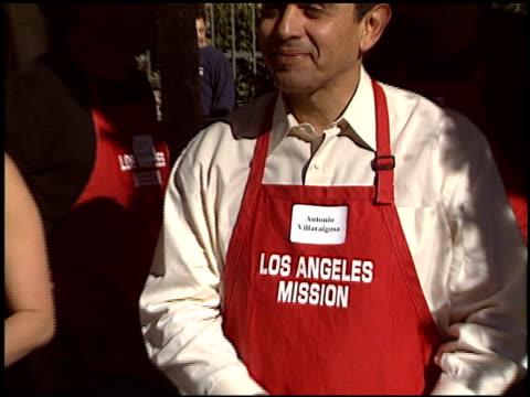 antonio villaraigosa at the christmas at los angeles mission at los angeles mission in los angeles california on december 24 2004 - antonio villaraigosa stock videos and b-roll footage