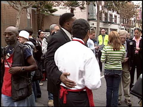 antonio villaraigosa at the los angeles mission thanksgiving at downtown in los angeles california on november 23 2005 - antonio villaraigosa stock videos and b-roll footage