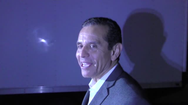 interview antonio villaraigosa talks about bringing some of china to hollywood outside tao nightclub in hollywood in celebrity sightings in los... - antonio villaraigosa stock videos and b-roll footage