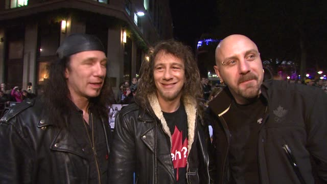 Anvil on their longevity as a band and being Rock and Roll at the London Film Festival Anvil The Story of Anvil at London