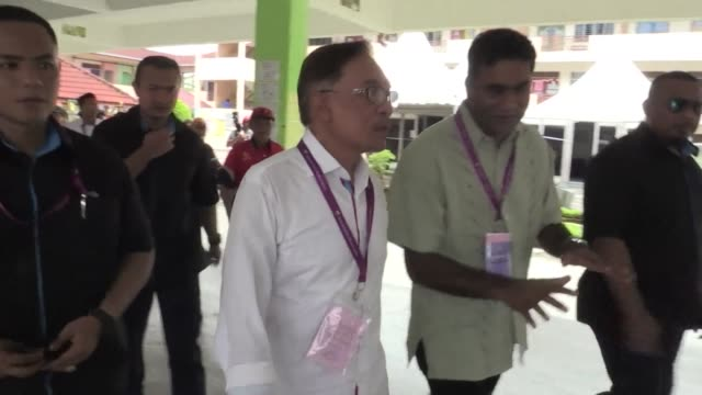 Anwar Ibrahim set his sights on a return to frontline Malaysian politics Saturday as voting began in a by election poll likely to seal the once...