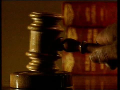 Anwar Ibrahim trial Anwar Ibrahim trial ITN Gavel banged down