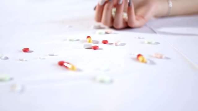 anxiety is a big problem - drug overdose stock videos and b-roll footage