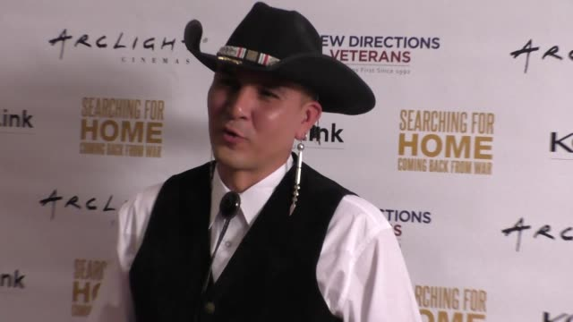 Apache Jay Nesahkluah at The Cast Of Lifetime Television's Army Wives Reunites For Searching For Home Coming Back From War at Arclight Theatre in...