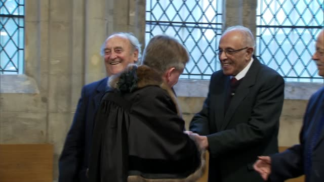 apartheid campaigners given freedom of the city of london england london city of london guildhall int antiaparheid campaigners denis goldberg ahmed... - lord mayor of london city of london stock videos & royalty-free footage