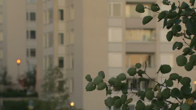 apartment-gebäude. - stockholm stock-videos und b-roll-filmmaterial