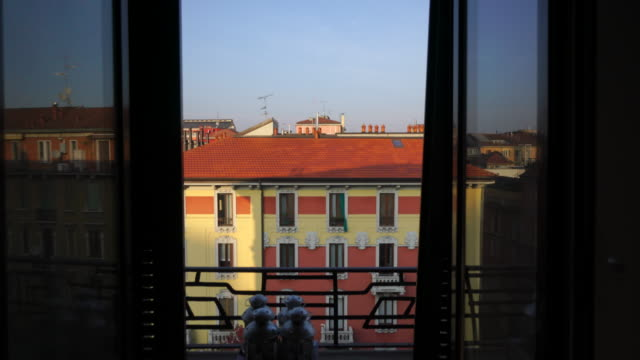 Apartment view in Milan, Italy