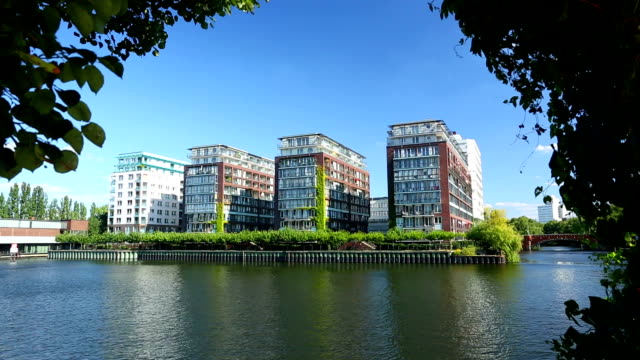 apartments close to the water - loft apartment stock videos & royalty-free footage