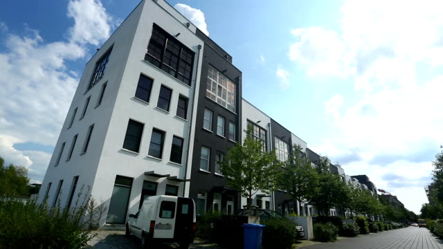 apartments in berlin - two story structure stock videos & royalty-free footage