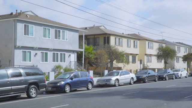 apartments in east los angeles - day - flat stock videos & royalty-free footage