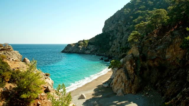 HD: Apella beach, Karpathos island, Greece