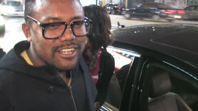 stockvideo's en b-roll-footage met apl de ap at vogue supper club in hollywood at the celebrity sightings in los angeles at los angeles ca - apl.de.ap