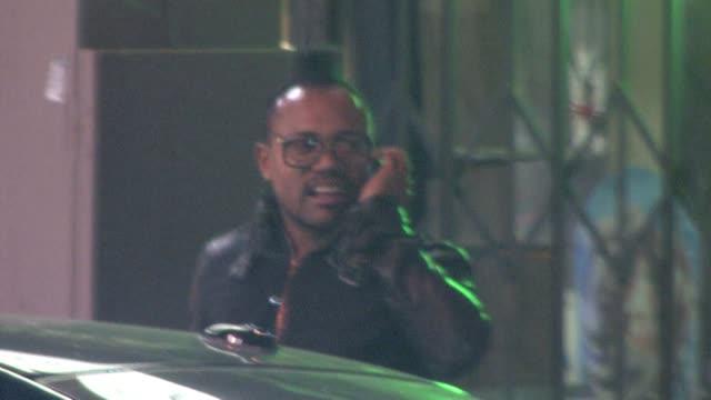 stockvideo's en b-roll-footage met apl de ap in hollywood at the celebrity sightings in los angeles at los angeles ca - apl.de.ap