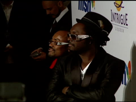 stockvideo's en b-roll-footage met apldeap and william at the clive davis 2008 pregrammy awards party at null in beverly hills california on february 9 2008 - apl.de.ap