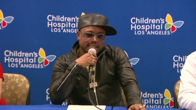 stockvideo's en b-roll-footage met speech apldeap at the apldeap foundation international announces partnership with the vision center at children's hospital los angeles in los angeles... - apl.de.ap