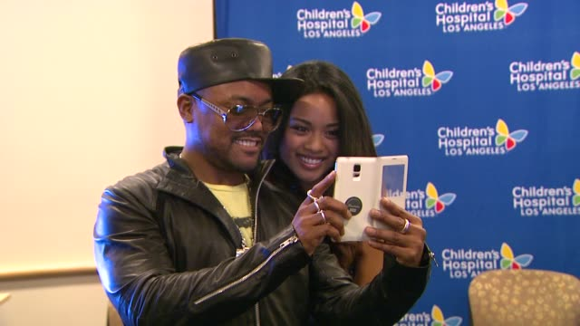 stockvideo's en b-roll-footage met apldeap at the apldeap foundation international announces partnership with the vision center at children's hospital los angeles in los angeles ca - apl.de.ap