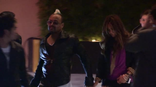 stockvideo's en b-roll-footage met apldeap at the roosevelt in hollywood 04/03/13 - apl.de.ap