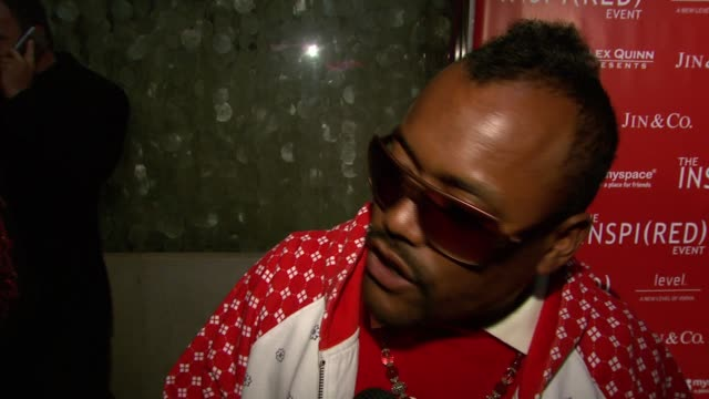 stockvideo's en b-roll-footage met apldeap of the black eyed peas on hosting the evening on coming from a thirdworld country why its important to give back and seeing fergie on tour at... - apl.de.ap