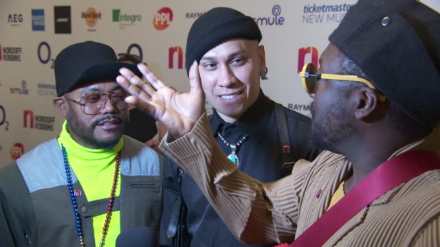 stockvideo's en b-roll-footage met apldeap taboo and william at nordoff robins 02 silver clef awards on july 5 2019 in london england - apl.de.ap
