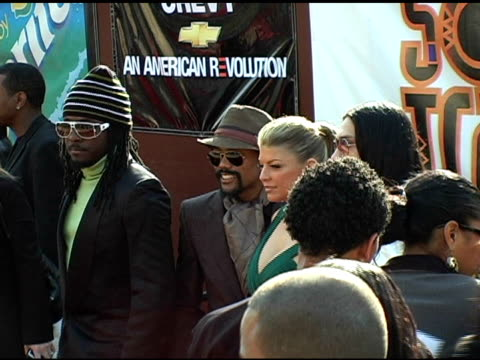 apldeap william Fergie and Taboo of the Black Eyed Peas at the 20th Annual Soul Train Music Awards at Pasadena Civic Auditorium in Pasadena...