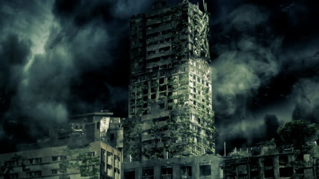 apocalypse city - apocalypse stock videos & royalty-free footage