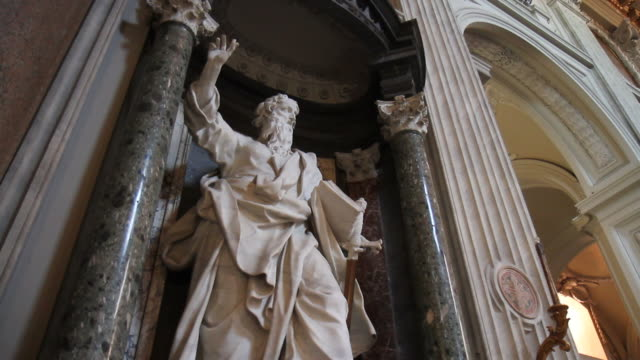 apostle paul in rome - apostle stock videos and b-roll footage
