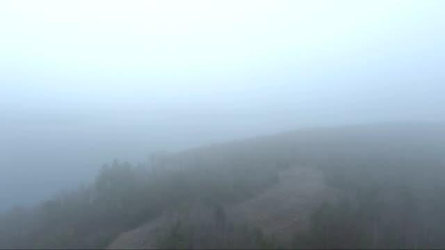 appalachian lake fog in kentucky - appalachia stock videos & royalty-free footage