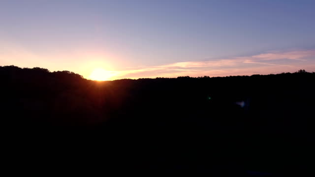 appalachian wilderness sunrise in kentucky - kentucky stock videos and b-roll footage