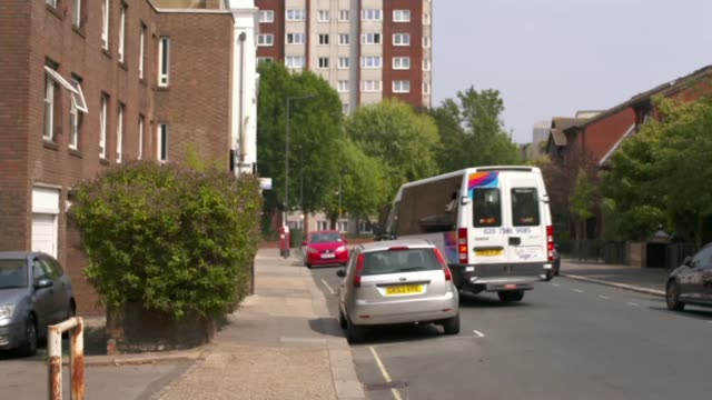 appeal for new west london 'lifeline' age uk minibus england london hammersmith and fulham ext lillian urban sitting in minibus chatting with driver... - new age stock videos & royalty-free footage