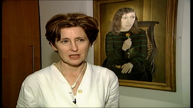Appeal for return of stolen painting Andrea Rose interviewed SOT This is an extraordinarily important painting from his early career C4N