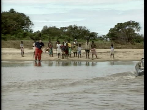 appeal fund reaches 14 million pounds/dangers of malaria appeal fund reaches 14 million pounds/dangers of malaria itn british lifeboat and fire... - microscopic animal stock videos and b-roll footage