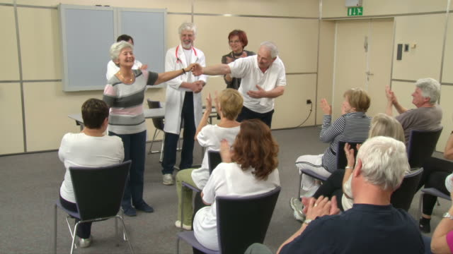 HD: Applause To Theater Group For Playing Medicals