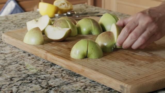 apple pie - home economics stock videos & royalty-free footage
