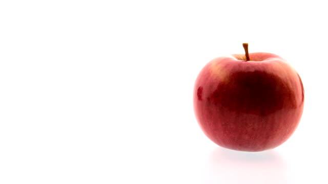 アップルの魅惑的なコンビネーション - レッドデリシャス点の映像素材/bロール